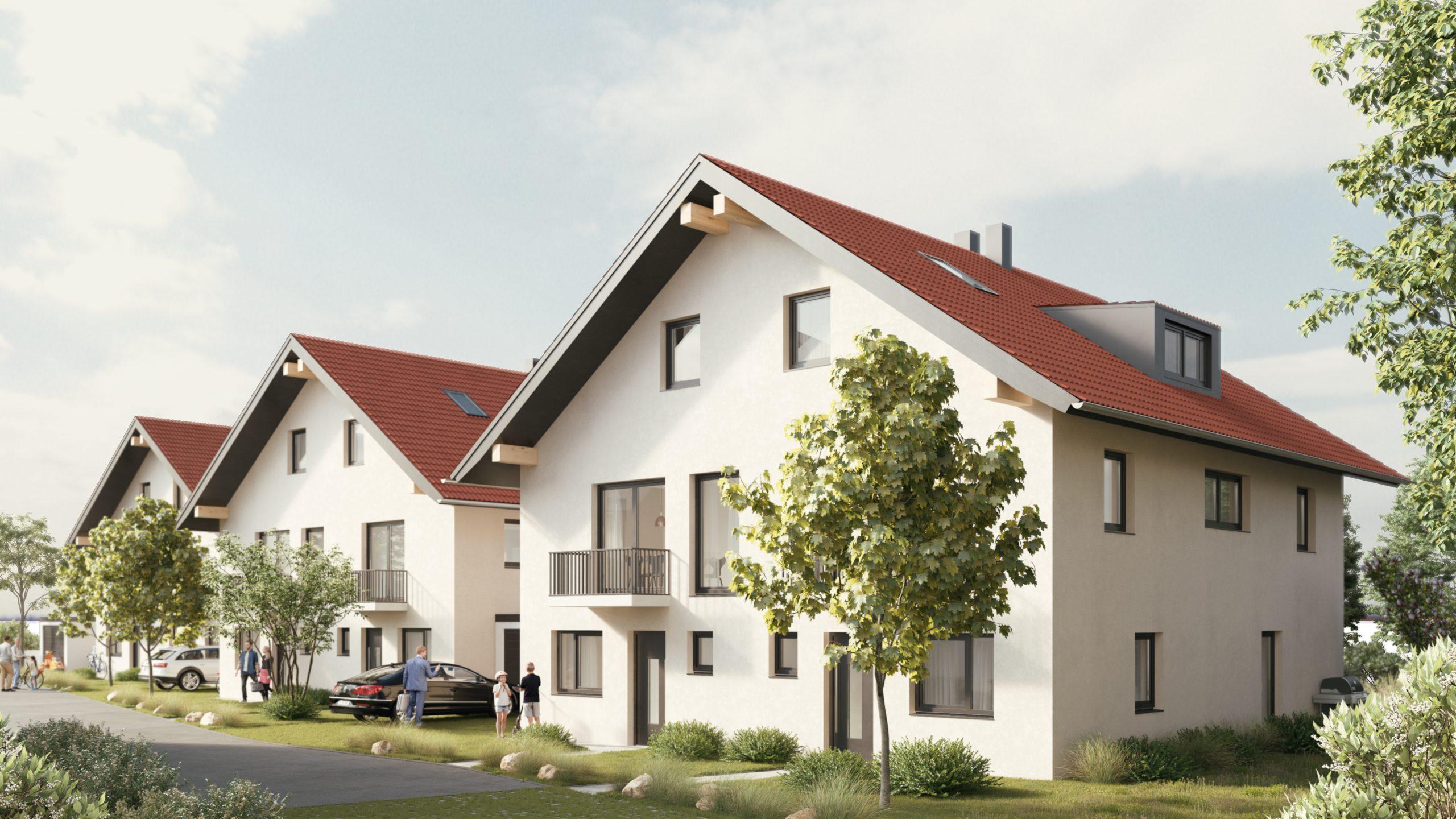3 Doppelhäuser in Weilheim