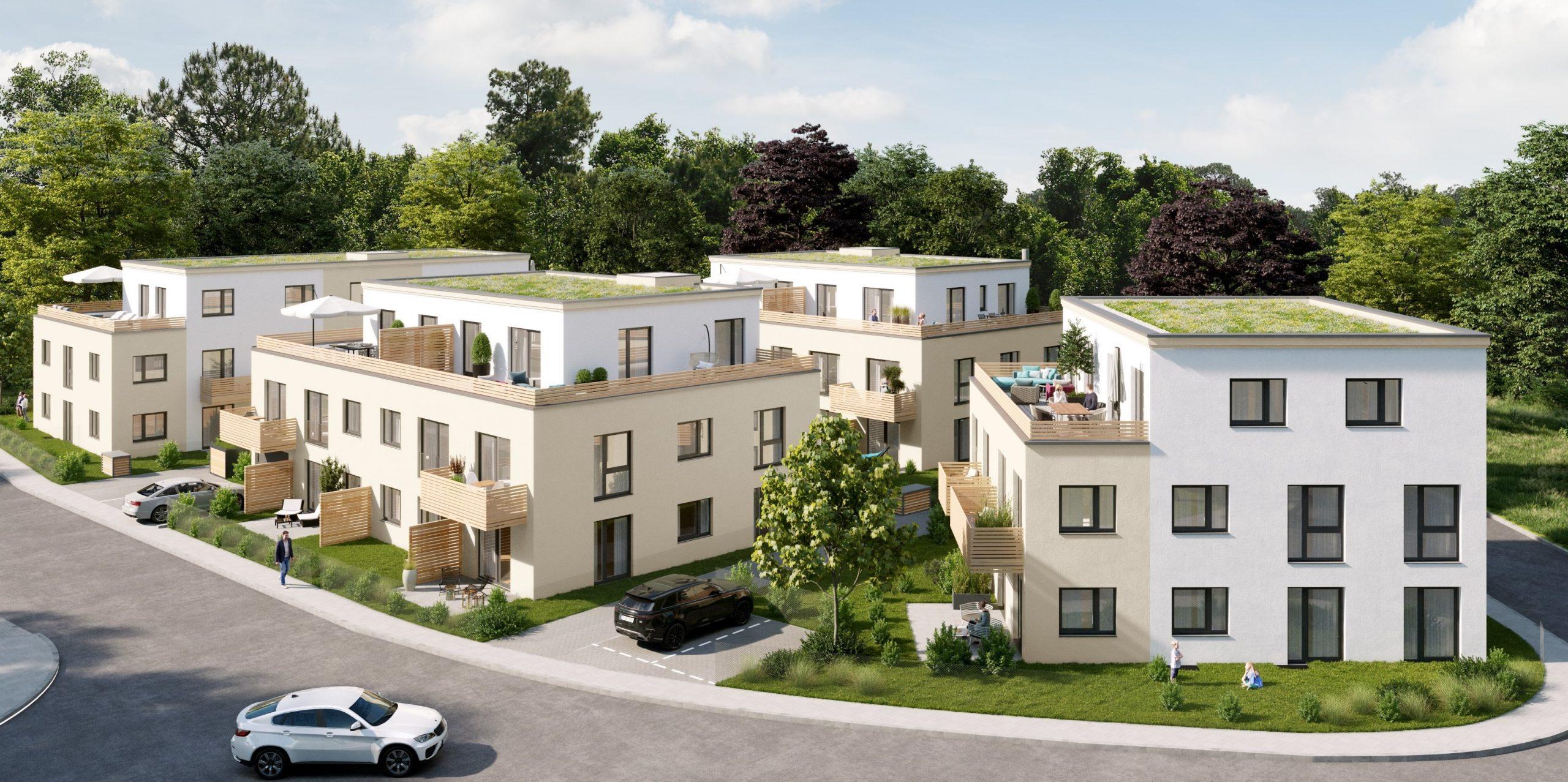 Wohnanlage in Schongau                                                                                    Verkaufsstart Juli 2021
